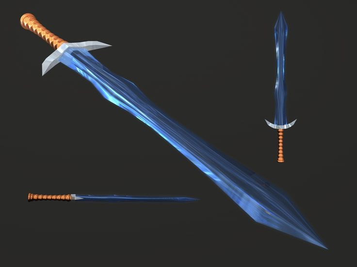 If the blade can withstand heavy hits, then its great. Diablo II Crystal Sword by Xelitron