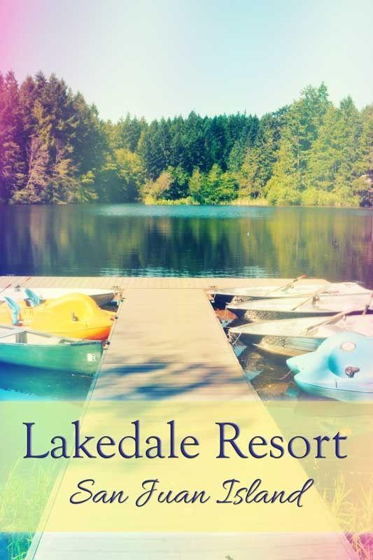 Resort Review: Lakedale Resort on San Juan Island, Washington. This is a fun resort for familiies! tipsforfamilytrips.com