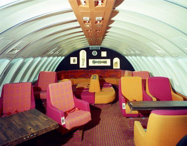 1972. Continental Airline 747 Interior. Intergraft/A C Martin Assoc.