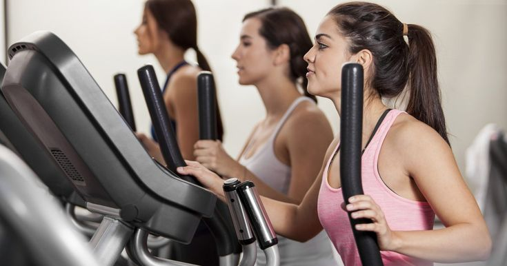 When you step into a gym, you will likely see several lines of cardiovascular machines, including treadmills, exercise bikes, stationary bikes, rowers and stair climbers. Another popular piece of machinery is the elliptical machine. Not only are they available at most gyms, but they are also used in homes. To use an elliptical, stand on top of the...