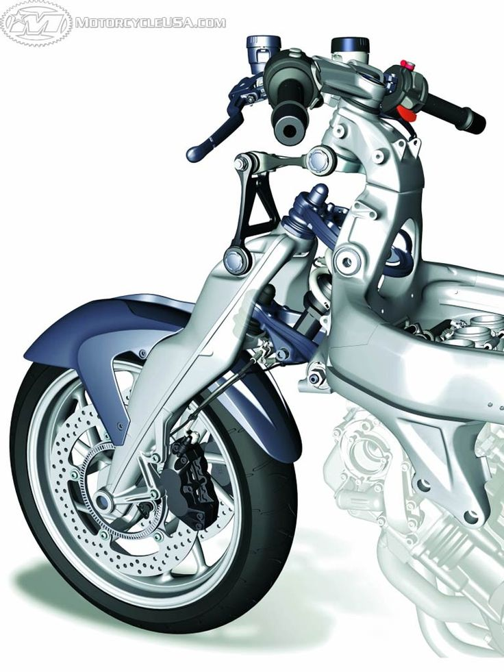 bmw k1200s duolever front suspension.weird! | bike