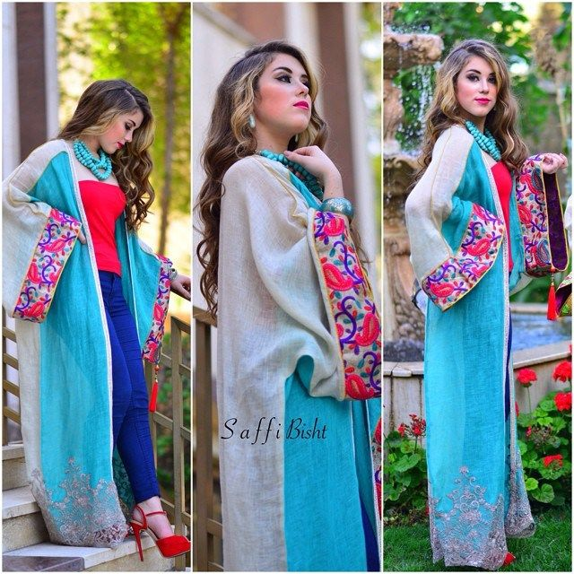 One Colorful Bisht