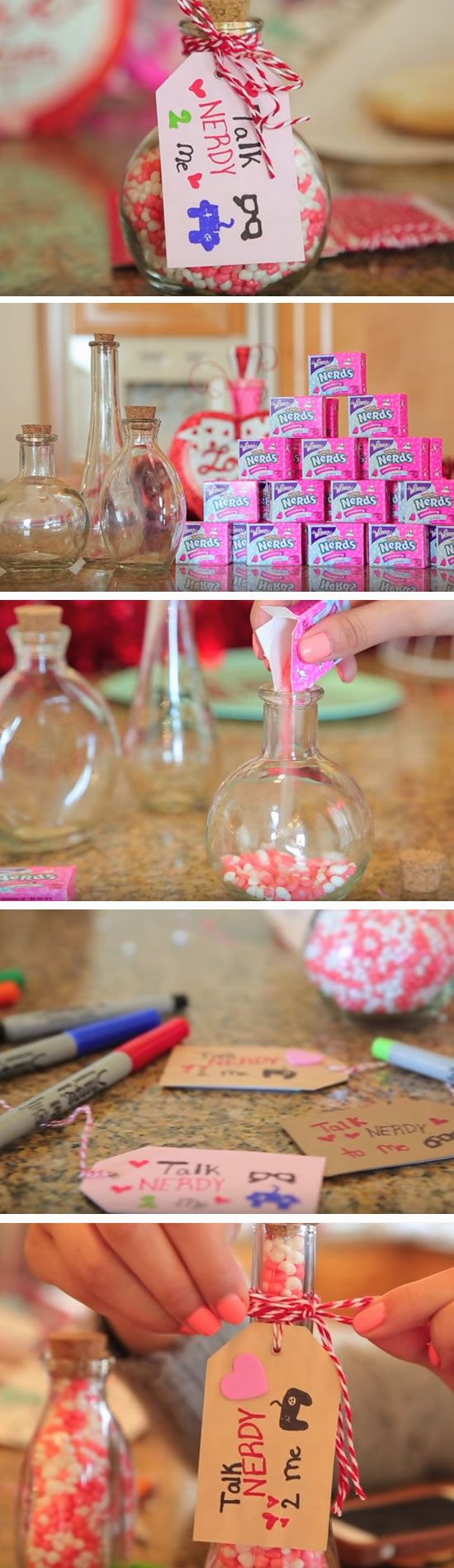 Talk Nerdy to Me | DIY Valentines Gift in a Jar Ideas for Kids | Easy DIY Anniversary Gift Ideas for Him