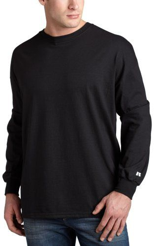 Russell Athletic Men's Basic Cotton Long Sleeve Tee $7.90 - $11.99