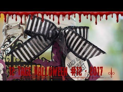 12 Tage Halloween 2017 | Tag 12 | Mach auf, wenn Du Dich traust | Stampin' Up! - YouTube
