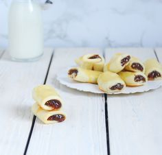 Figs cookies, homemade Newtons - Galletas rellenas de mermelada de higos