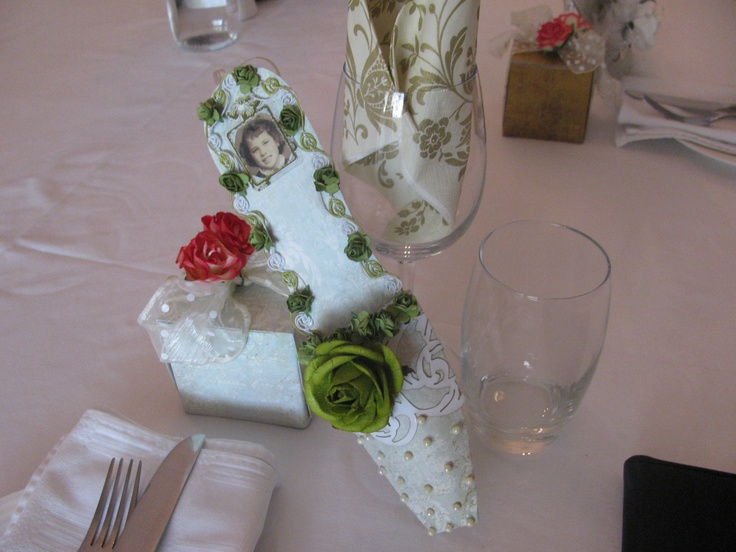 place settings for oumi's 50th something birthday