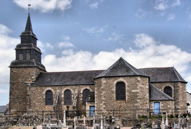 Église St-Pierre, à Pleslin.
