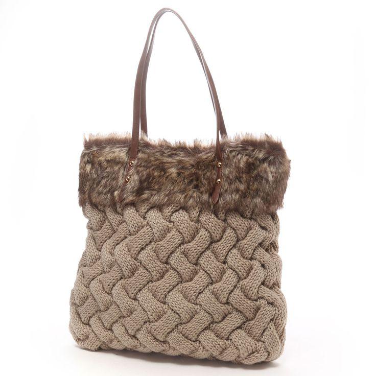 cache cache knit bag