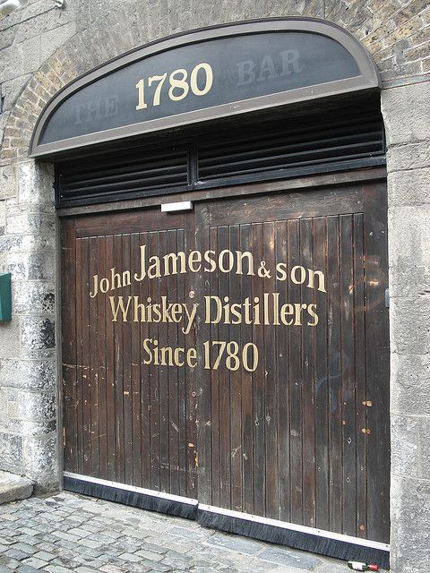 Jameson whiskey distillery on my top 100 places to Visit list.~ and to go to the Guinness factory too ;)