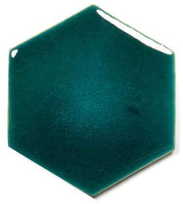 Ceramic Handmade Tile - Hexagon