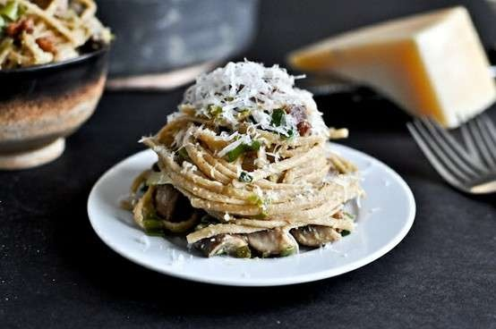 And Leek Carbonara - I Know It's Not Carbonara Without Bacon ...