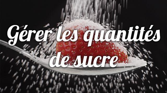 Les sucres rapides ou lents (glucides simples ou glucides complexes) doivent représente 50 à 55% de notre apport calorique journalier. Et moins d' 1/3 doit être représenté par les glucides simples c'est-à-dire les produits sucrés, les fruits, le miel… Tout apport supplémentaire va se stocker dans les cellules graisseuses.  Aurélie Guerri , diététicienne nutritionniste, vous conseille sur les portions de sucre que vous pouvez consommer dans la journée, pendant  un rééquilibrage alimentaire…