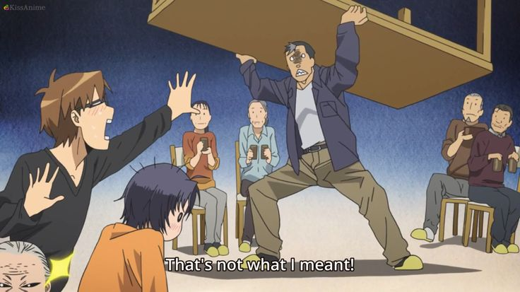 Makes you laugh and makes you feel all warm and fuzzy on the inside. :) <3 (Silver Spoon/Gin no Saji)