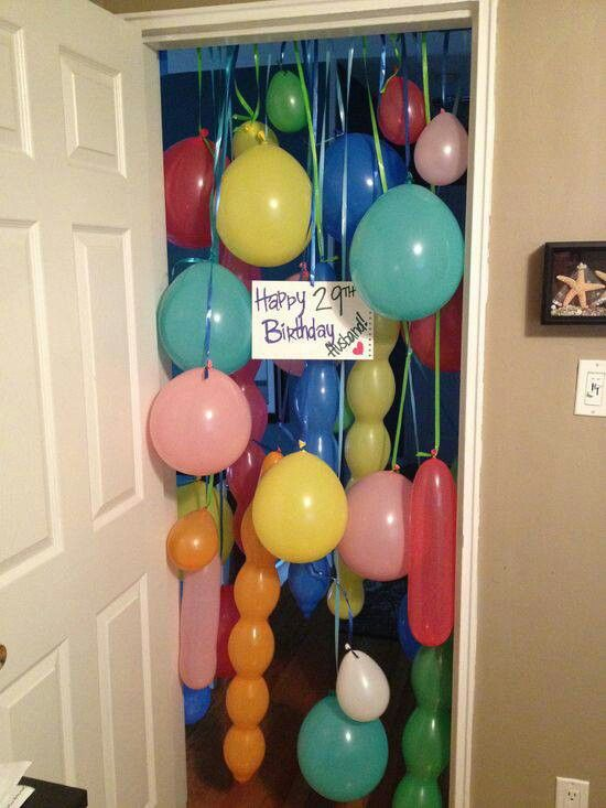 Would love to do this for my sis' birthday, but she usually doesn't ever close her door.
