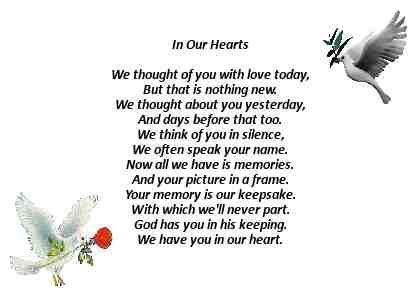 Always in our hearts x   Family   Pinterest   X..., In and Heart