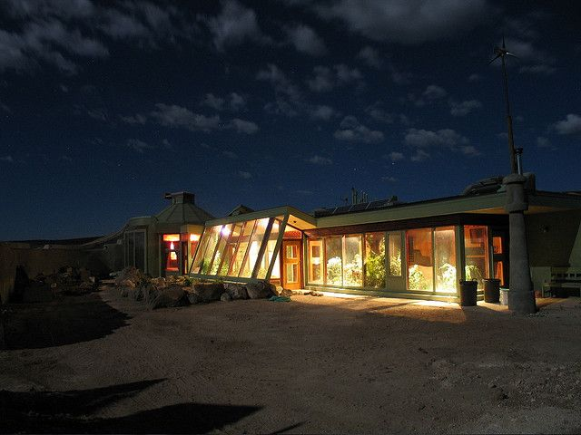 earthship night