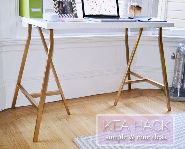 Best 25+ Ikea Hack Desk Ideas On Pinterest