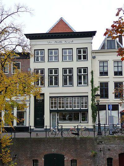 De Witte Vos op de #Oudegracht in #Utrecht. Monumentaal #woonhuis om in te #vergaderen