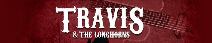 Travis and Longhorns Country music band new york logo