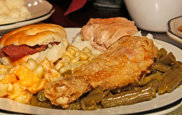 Get some of the best southern cooking at this little known restaurant.