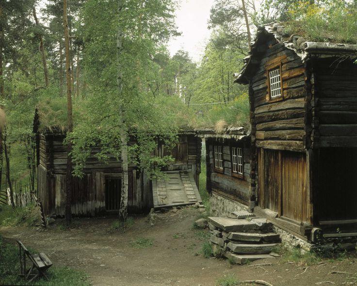 Oppdal: Bakkarplassen, Mjoen in Oppdal Halvor Iversen Mjoen was ...