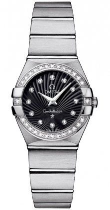 Omega 12315246051001 Constellation Womens Diamonds 24MM Watch ** Read more at th...