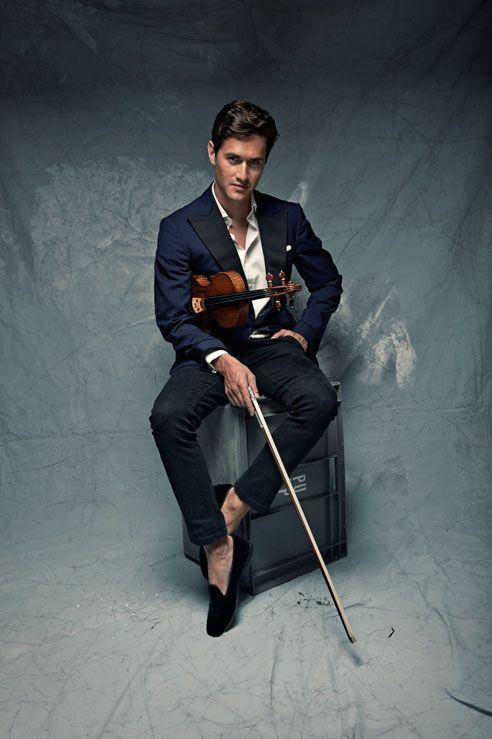 Violinist Charlie Siem
