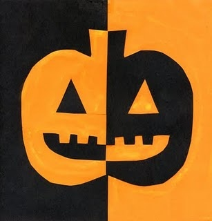 Positive/negative pumpkin