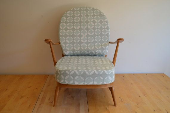 Ercol Vintage 203 Armchair with Exclusive by AndrewsPartnership