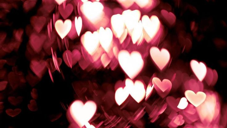 St.Valentine Bokeh Heart