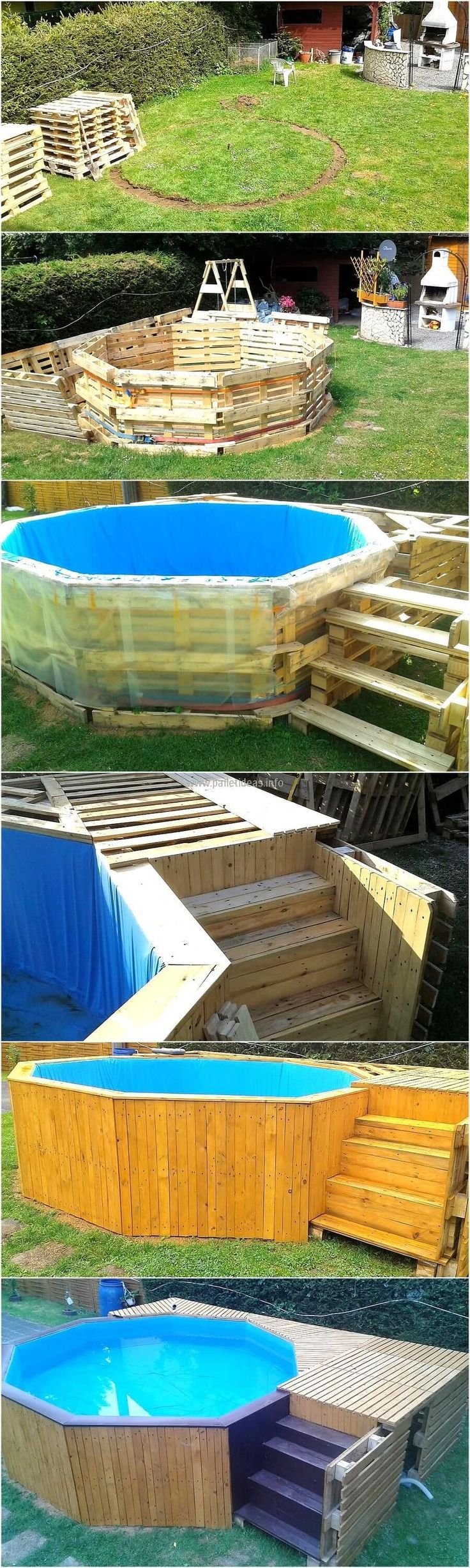 Here we come with reclaimed wood pallets garden pool plan. It also offers a great utility to craft the furniture of your own choice. The power of customizing the reused wood pallet furniture to your need is amazing. It offers you to choose your required size of craft that fits your targeted space. We are at ease with crafting classic and rustic pallets artistic wall for the very nature of style of these pallets.