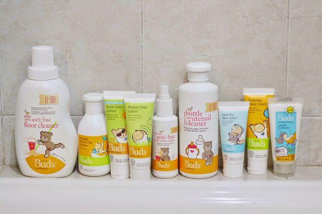 Kids/Toddler Green Lifestyle with Organic Skincare Range - BUDS ORGANICS. www.lifeatarcilland.com