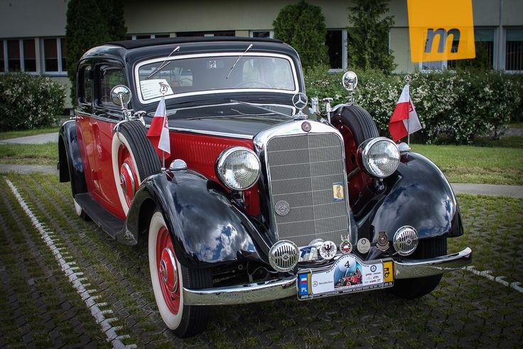12 Zlot Zabytkowych Mercedesów StarDrive 2013 Bielsko-Biała
