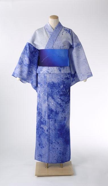 Art Yukata. Water Yukata and Sky Obi.