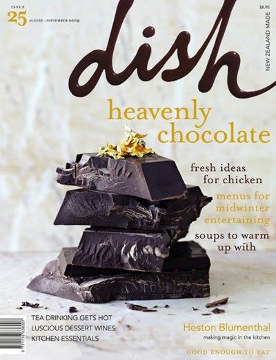Dish Magazine, Aug/Sep 2009  (searchable index of recipes)