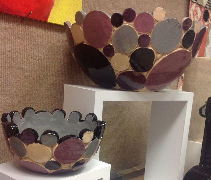 High School Intro to Ceramics.