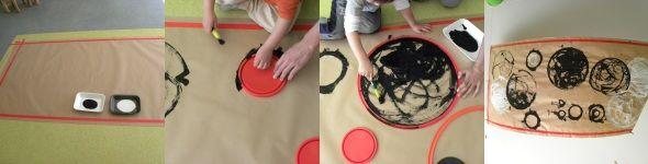 """""""EL CÍRCULO. GEOMETRÍA EN 2-3 AÑOS"""" Un proyecto de un trimestre en el que los niños aprenden a reconocer los círculos y a diferenciar entre objeto y forma circular: """"¿qué es eso? una rueda ¿qué forma tiene? un círculo"""". Descripción materiales y artistas para inspirarse"""