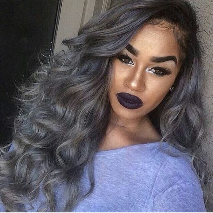 71 Best Images About Gray Hair Black Women On Pinterest