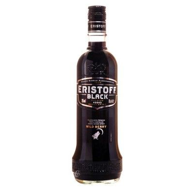 Vodka Eristoff Black aromatisée aux baies sauvages