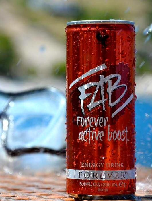 This great-tasting energy drink contains a proprietary blend of herbs and nutrients, including vitamin B6, B12 and caffeine. FAB is a quick and simple way to get an immediate burst of energy – perfect for those who enjoy sport. https://shop.foreverliving.com/retail/shop/shopping.do?itemCode=321&task=viewProductDetail
