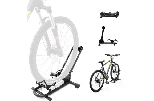 Comes with 5 bike holders High quality Powder Coated Steel Can be used as a 5 bike units or can be easily seprated to have 5 separate 1 bike racks Easy quick release separation Weight: 10 Ibs Made in Taiwan 1 Year Warranty Replacement #bikestands #bikerack