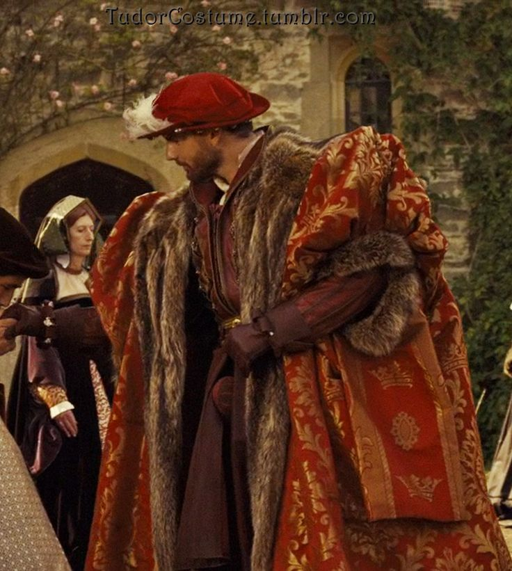 Henry VIII's Red Cape (The Other Boleyn Girl, 2008)
