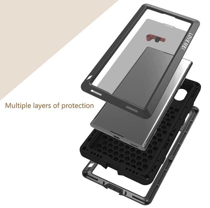 Love Mei Powerful Sony Xperia Xa1 Plus Protective Case Sony Mobile Phones Protective Cases Sony Case