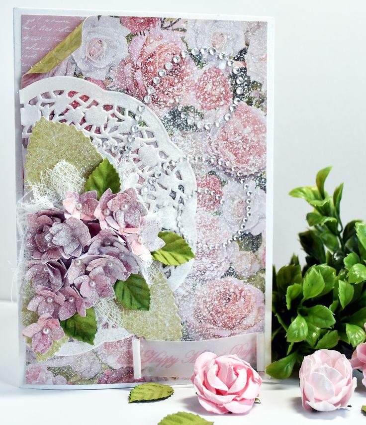 Kaisercraft Cottage Rose Collection