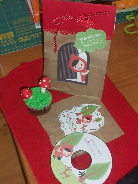 """Photo 5 of 33: little Red Riding Hood / Birthday """"Mia's 4th birthday Party"""" 