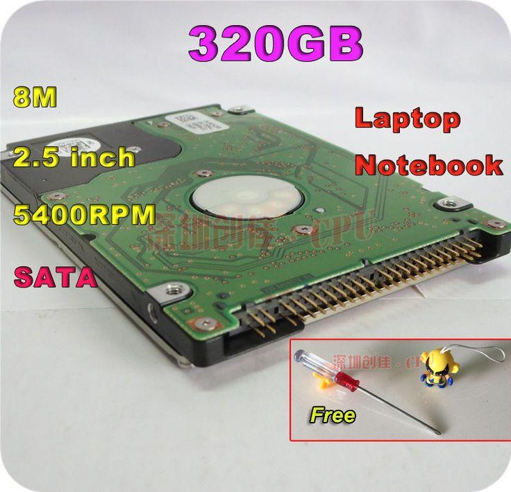 "2.5"" HDD SATA 320GB 320g sata 5400RPM 8M Internal Hard Disk Drive laptop notebook ps3 xbox 360 notebook screw driver free"