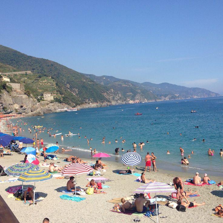 Monterroso Beach , Cinque Terre , Italy