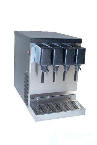 Home Soda Fountain Dispenser Machine 4 Flavor Grocery