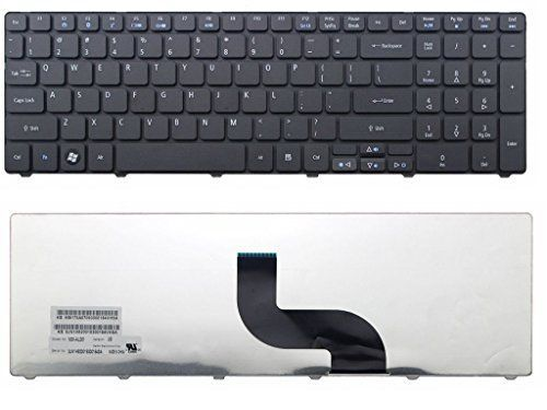 New Laptop Keyboard for Acer Aspire MS2286 MS2278 MS2261 MS2265 MS2309 MS2310 MS2277 US Black color